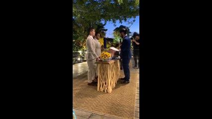Carlinhos Maia e Lucas Guimarães se casam no interior de Alagoas