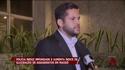 Polícia reduz impunidade e aumenta índice de elucidação de assassinatos em Maceió