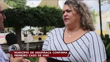 Arapiraca confirma primeiro caso de H1N1
