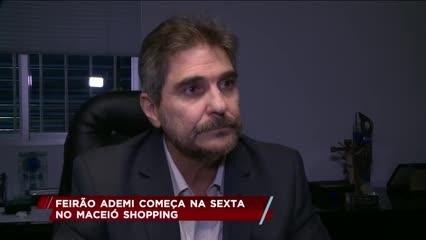 Feirão ADEMI começa na sexta no Maceió Shopping