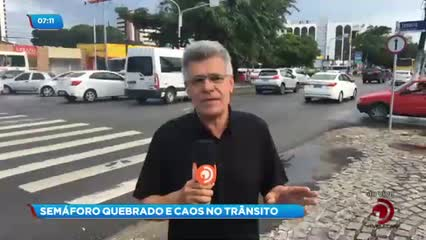 Semáforos estrão sem funcionar na Avenida Fernandes Lima