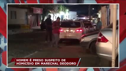 Homem é preso suspeito de homicídio em Marechal Deodoro