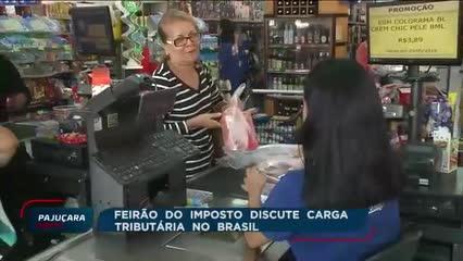 Feirão do Imposto discute a alta carga tributária no Brasil