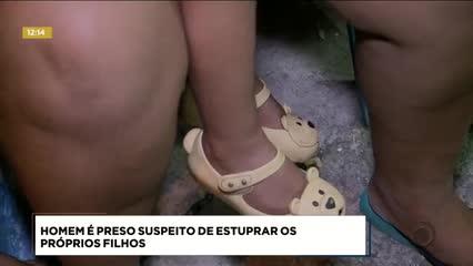 Homem foi preso suspeito de estuprar os próprios filhos