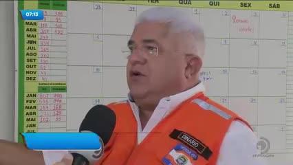 Moradores das áreas de risco em Maceió estão aflitos com as chuvas