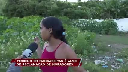 Terreno em Mangabeiras é alvo de reclamação de moradores