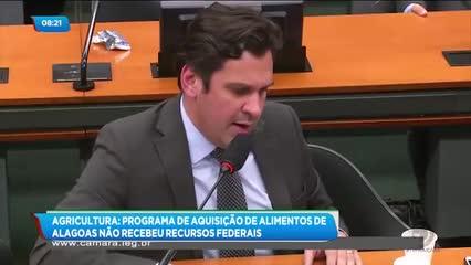 Agricultura: Programa de Aquisição de Alimentos de Alagoas não recebeu recursos federais