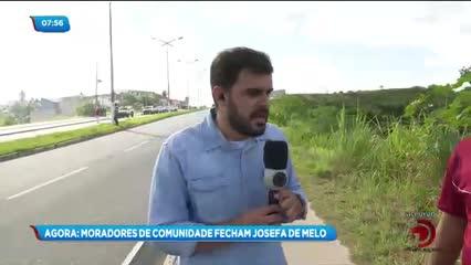 Deslizamento de barreira próximo à Josepha de Mello preocupa moradores