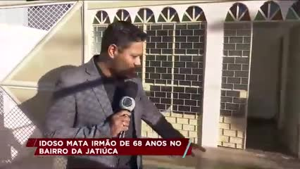 Idoso mata irmão de 68 anos no bairro da Jatiúca