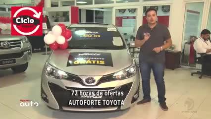 72 horas de ofertas da Autoforte Toyota