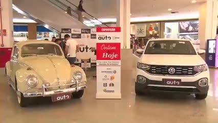 Exposição Ontem & Hoje do Pajuçara Auto no Maceió Shopping