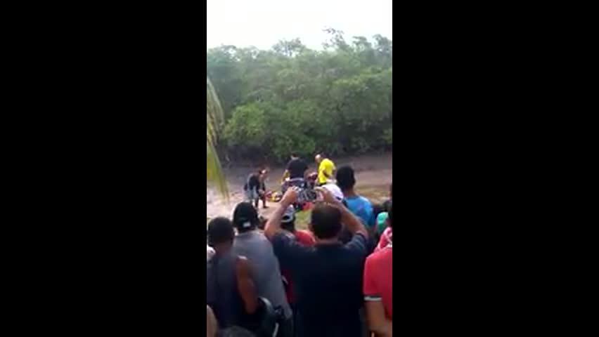 Vídeo mostra resgate em acidente que resultou na morte de Gabriel Diniz
