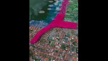 Prefeitura usa vídeo para explicar mapa sobre Pinheiro e região