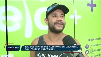 53% dos brasileiros comprometem orçamento com compras parceladas