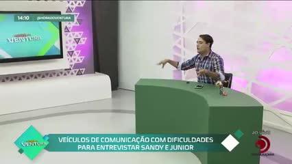 Paula Fernandes lamenta que Luan Santana não vai participar de DVD - Bloco 01