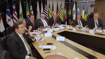 Governadores se reúnem em Brasília para tratar sobre a Reforma da Previdência