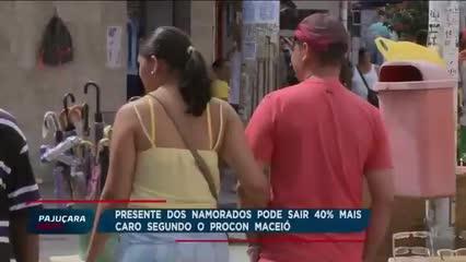 Presente dos Namorados pode sair 40% mais caro segundo o PROCON Maceió