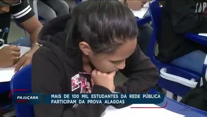 Governo de Alagoas aplica prova para avaliar o desempenho dos alunos da rede pública de ensino