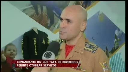 Taxa de Bombeiros permite otimizar serviços da guarnição
