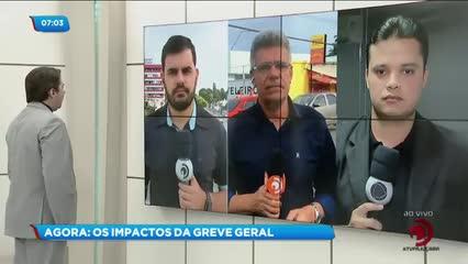 Greve Geral: Os reflexos da mobilização nacional em Alagoas
