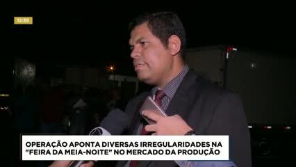 Semtabes realizou fiscalização na Feira da Meia-Noite