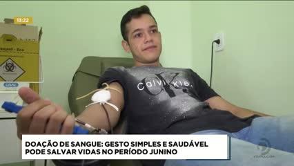 HEMOAL convida doadores para garantir o estoque do banco de sangue durante o São João