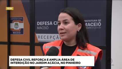 Defesa Civil de Maceió amplia interdição no bairro do Pinheiro