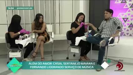 Dia da Manicure: Bruno e Maísa homenageiam as profissionais - Bloco 02