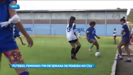 CSA realizou uma peneira para o futebol feminino durante o fim de semana
