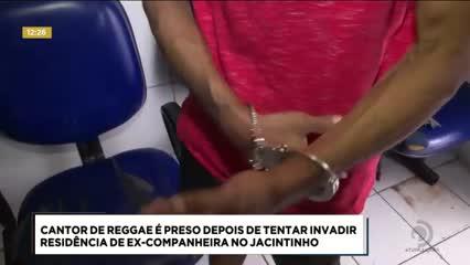 Cantor Oswaldo Silva foi preso suspeito de tentar agredir ex-companheira