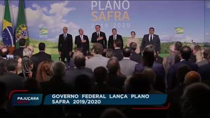 Governo Federal lança Plano Safra 2019/2020