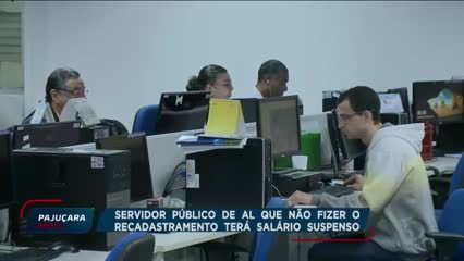 Começou o recadastramento dos servidores públicos de Alagoas