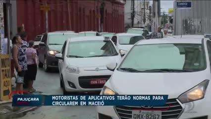 SMTT fiscalizará motoristas de aplicativos na capital