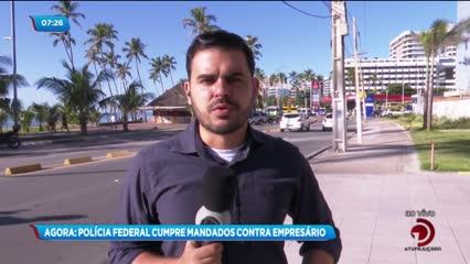 Polícia Federal deflagrou na manhã desta quarta-feira a ''Operação Camaleão''