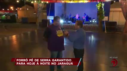 Forró Pé de Serra garantido para hoje à noite no Jaraguá