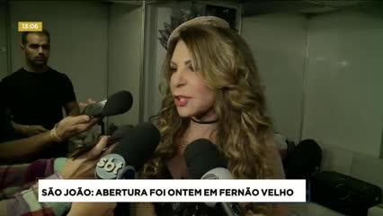 Abertura do São João de Maceió aconteceu ontem em Fernão Velho
