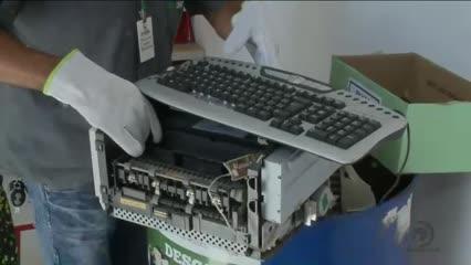 Descarte correto do lixo eletrônico está ajudando na inclusão digital