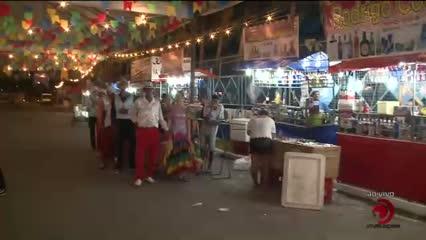 Hoje é dia de festa junina no Benedito Bentes I