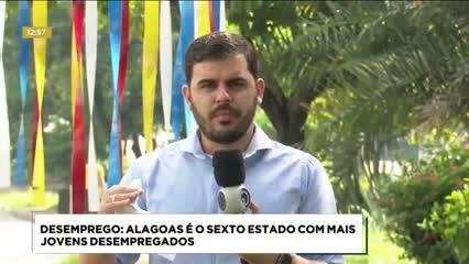 Alagoas é o sexto estado com mais jovens desempregados