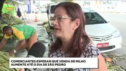 Vendedores de milho de Maceió reclamam do movimento este ano