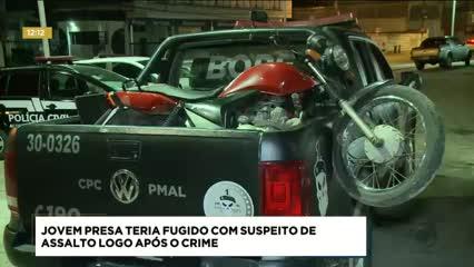 Polícia procura jovem suspeito de assaltar estabelecimento na Grota do Arroz