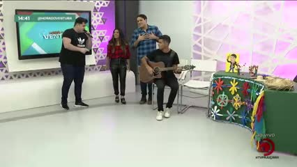 São João do Ventura recebe o cantor Elminho - Bloco 03