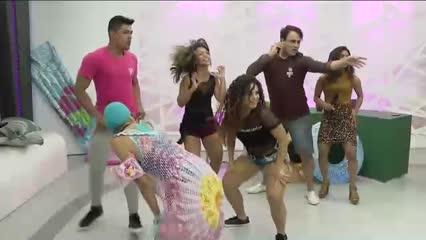 Desafio da Dança: Ventura e Maísa vão fazer igual - Bloco 02