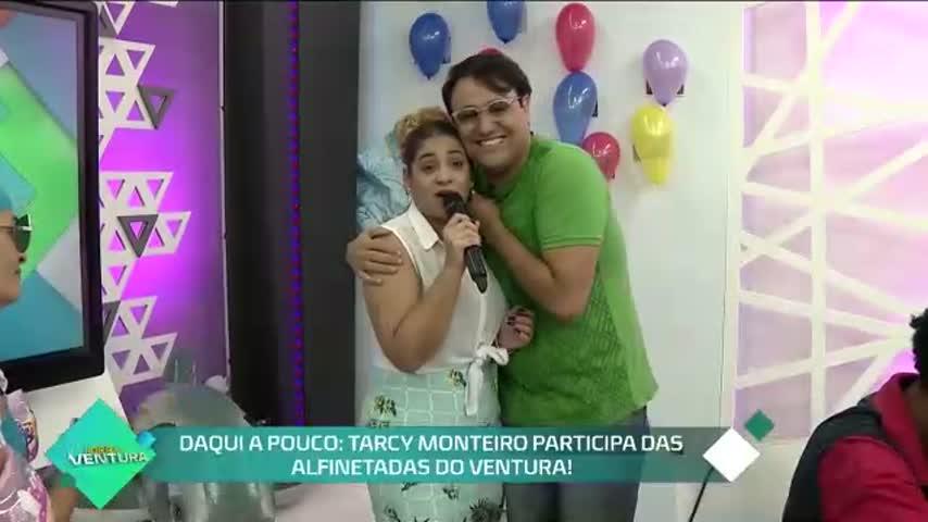 Daqui a pouco: Tarcy Monteiro participa das Alfinetadas do Ventura! - Bloco 01