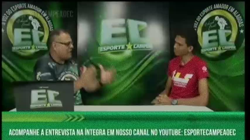 Esporte Campeão entrevistou o atleta Léo Santana