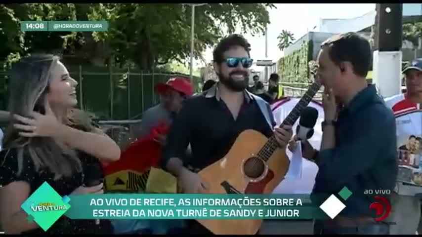 """Bruno Ventura mostra os bastidores da ''Vitrine Irresistível Guido/TV Pajuçara"""" - Bloco 01"""