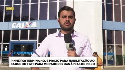 Pinheiro: Prazo para habilitação ao saque do FGTS termina nesta segunda-feira