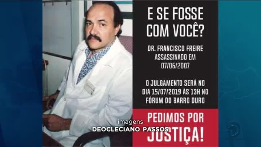 Acusada de mandar matar médico é julgada 12 anos depois do crime