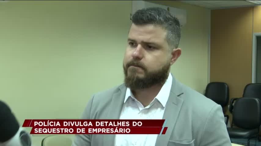 Polícia divulga detalhes do sequestro de empresário em Maceió
