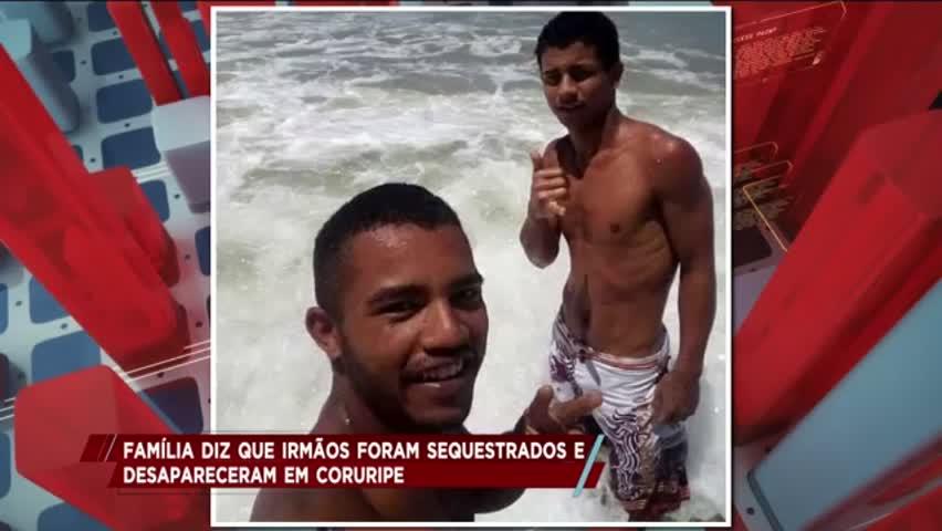 Família diz que irmãos foram sequestrados e desaparecidos em Coruripe